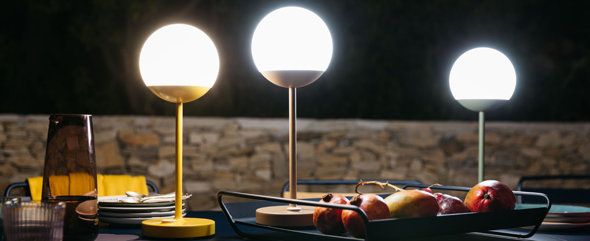 wireless lamp, fermob lamp